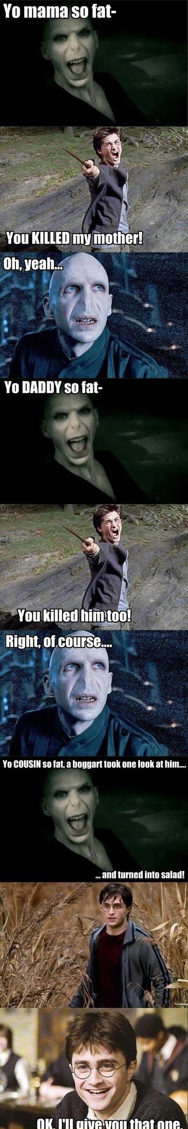 Harry Potter - Parody Scene... silly :p