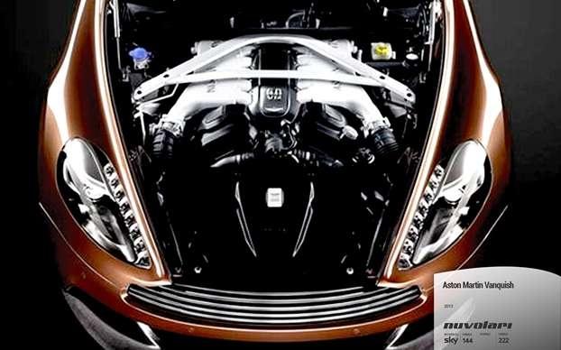 Il motore Aston Martin Vanquish 2013. http://www.nuvolari.tv/anteprime/aston-martin-vanquish-2013/aston-martin-vanquish-motore