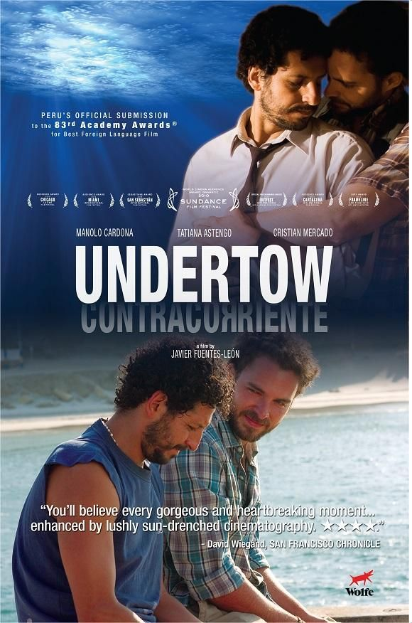 Digital #Download or #Rental 'Undertow' from Javier Fuentes-León http://gay-themed-films.com/product/undertow-contracorriente/ #Gay #Films
