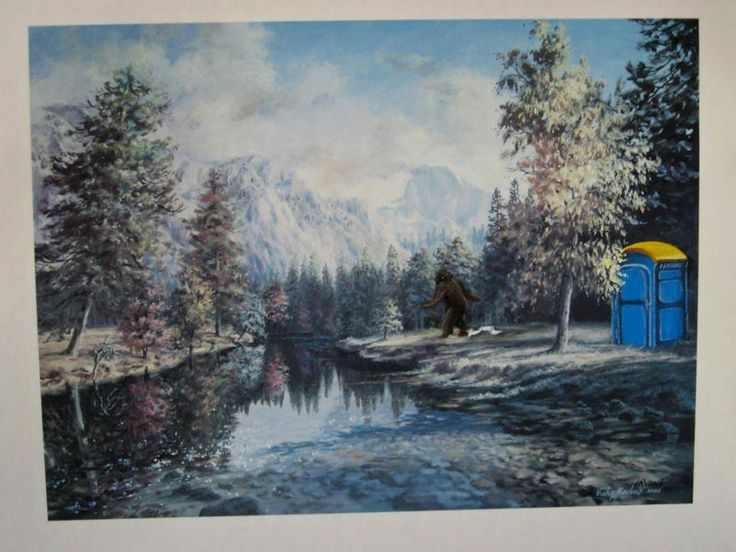 thrift store paintings by david irvine