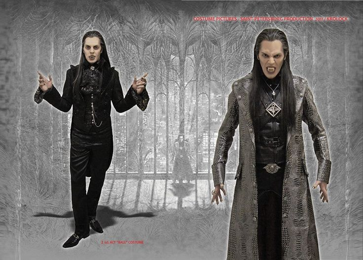 Russian Tanz der Vampire 2016 costume designs!