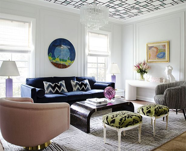 709 best images about ceiling color on pinterest for Summer thornton design
