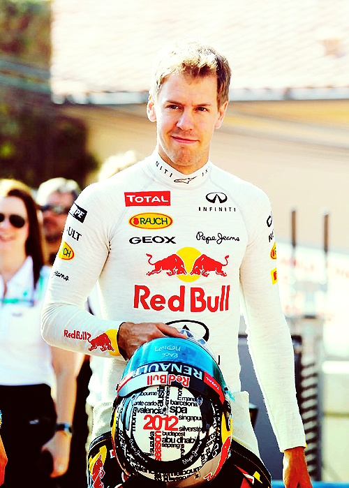 Sebastian Vettel - Honestly, that crooked grin gets me every time. I hope I meet him in Texas!!!