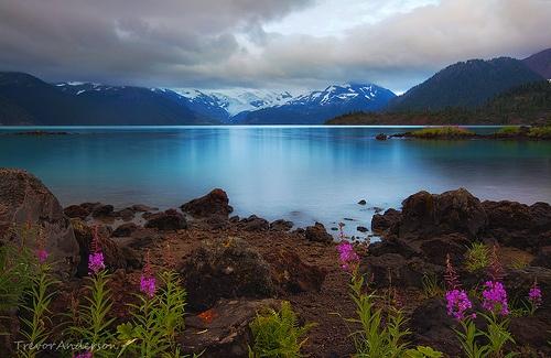 Azure Shores ~ Canada's Garibaldi Lake.