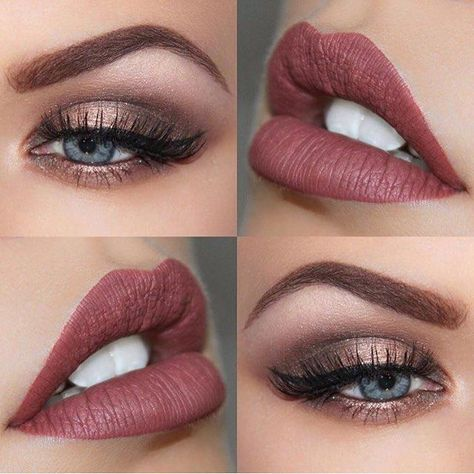 Maquiagem, neutra, suave | pinterest: dessrosa