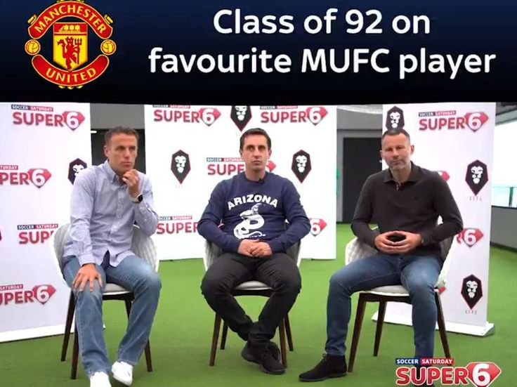 Gary Neville, Ryan Giggs and Phil Neville reveal their best-ever Manchester United teammate