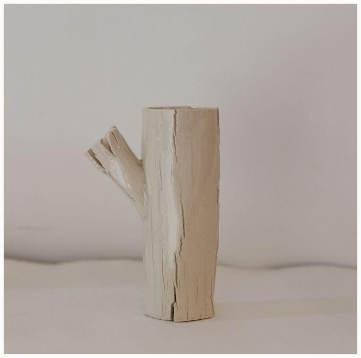 portavela ceramica artesanal