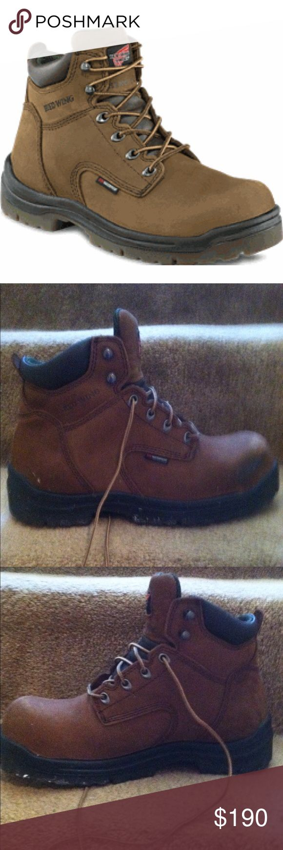 Red Wing King Toe Steel Toe Boots Red Wing Steel Toe Boots - worn Once - Excellent condition!! Comes in box!! Red Wing Shoes Shoes Boots