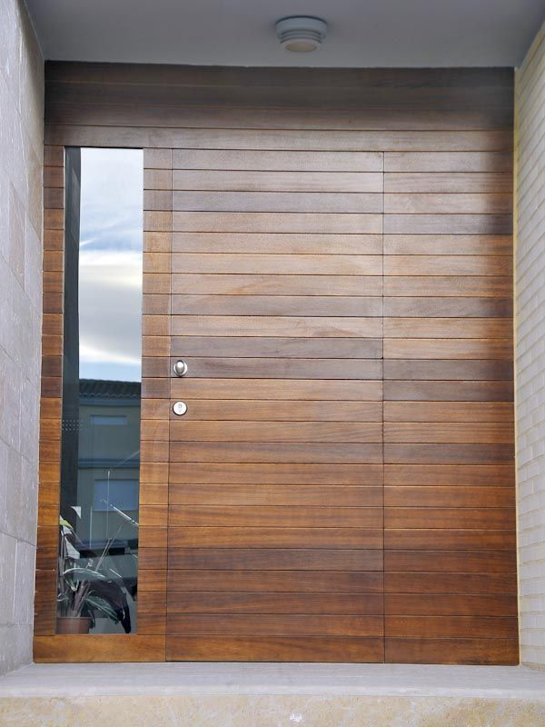 17 mejores ideas sobre puertas de aluminio exterior en for Puerta blindada casa