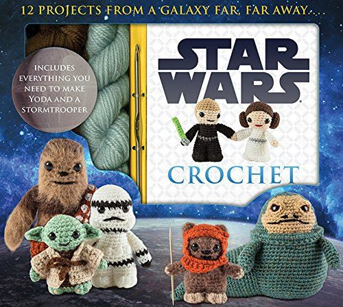 Star Wars Crochet Kit by Lucy Collin BRAND NEW (sealed) with pattern book and yarn in box