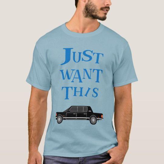 Limousine T-Shirt | Zazzle.com