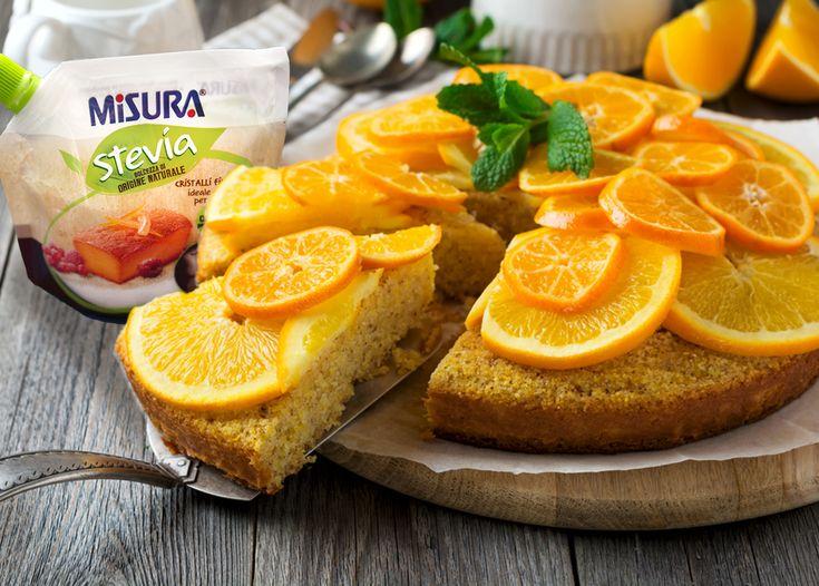 Anche a San Valentino volete essere pratici e veloci? Provate una ciambella leggera agli agrumi.  #stevia #cake #sanvalentine