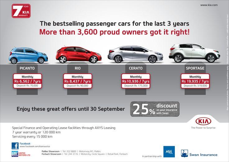 KIA Promo Leasing & Assurance