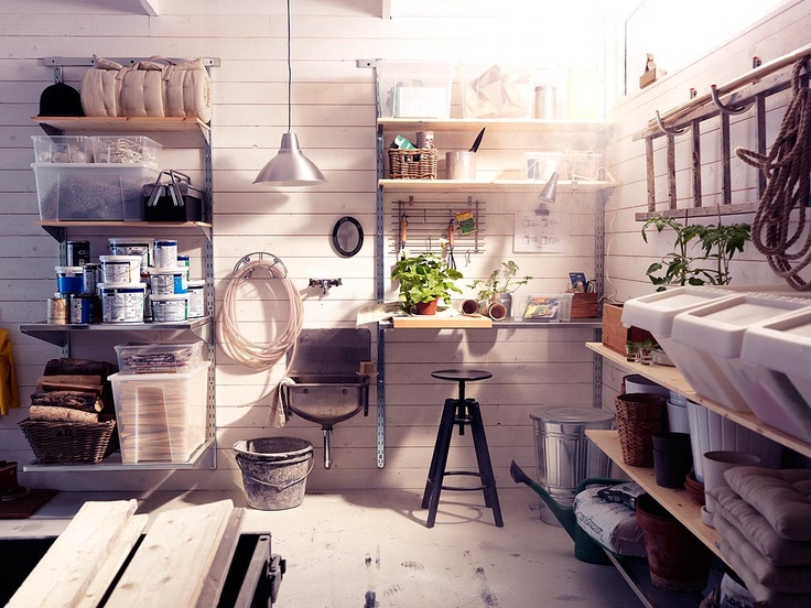My garage workspace will look like this...