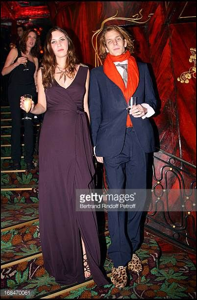 Tatiana Santo Domingo and Andrea Casiraghi Dinner at the restaurant Maxim's in Paris to the benefit of the asssociation OTM which helps children in...