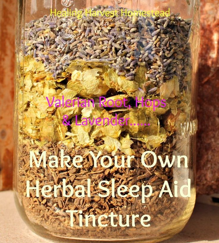 Make Your Own Effective Sleep Aid from Safe Easy to Find Herbs!