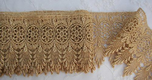Vintage Chic Antique Metallic Gold Lace von delightfuldesigner, $5,99