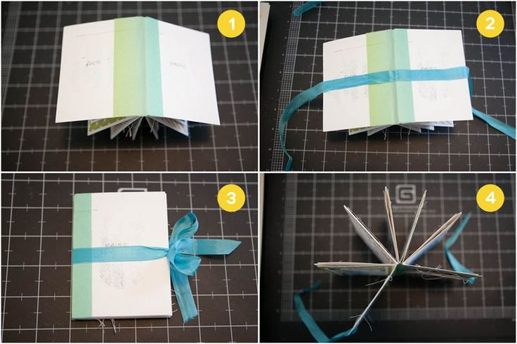 mini album from one sheet 12x12 cardstock