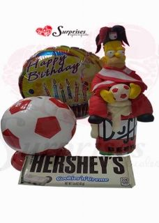 Pasion por el futboll. Hermoso regalo, para sorprender en cualquier ocasión, con estilo, le encantara. www.surprisesbogota.com tel: 4380157 Cel: 3123750098