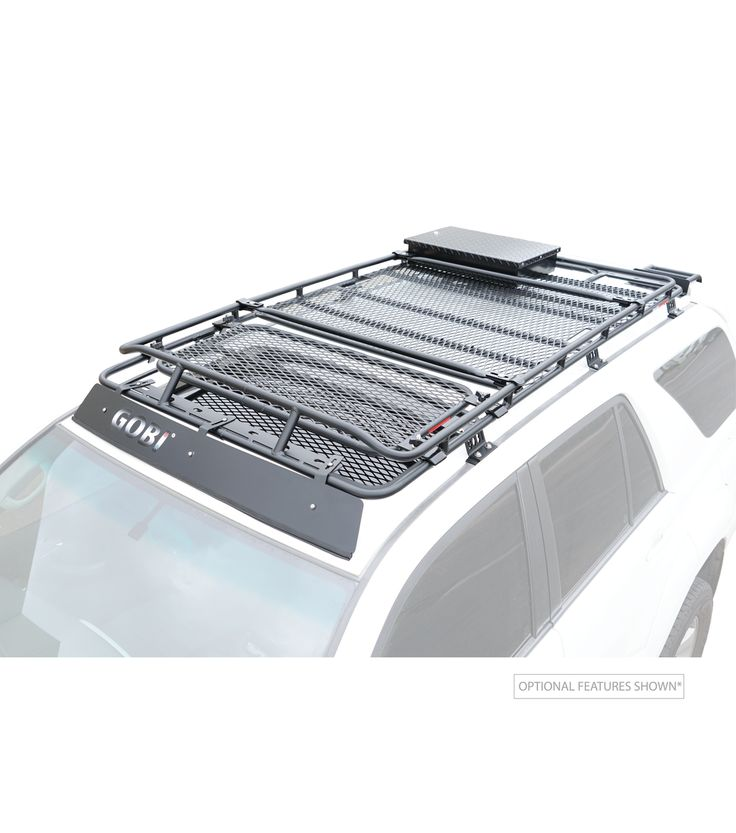 TOYOTA 4RUNNER 4th GEN STEALTH RACK · MultiLight Setup