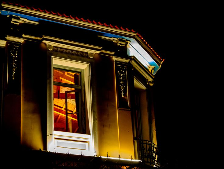 Neoclassical architecture by night...