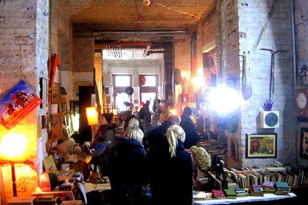 Gozsdu Antik Market kultúrzsibi