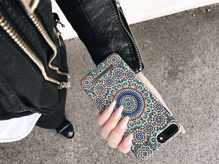 Moroccan Zellige by lovely @ninagunnarsson - Fashion case phone cases iphone inspiration iDeal of Sweden #Mosaic #blue #fashion #inspo #iphone #pattern #tile #summer #Marrakech