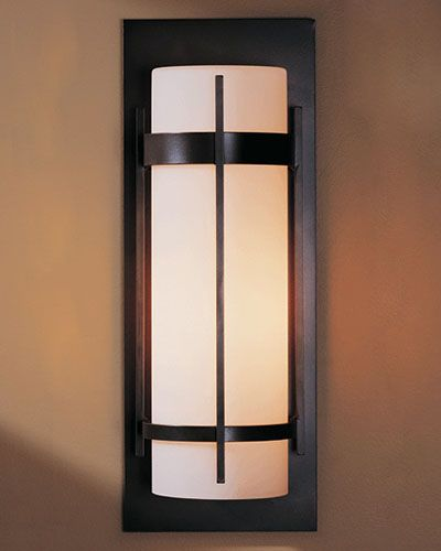 431  Hubbardton Forge  305894 Banded Large Outdoor Sconce