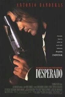 Desperado - Iconic movie with Antonio Banderas, Salma Hayek & Quentin Tarantino.