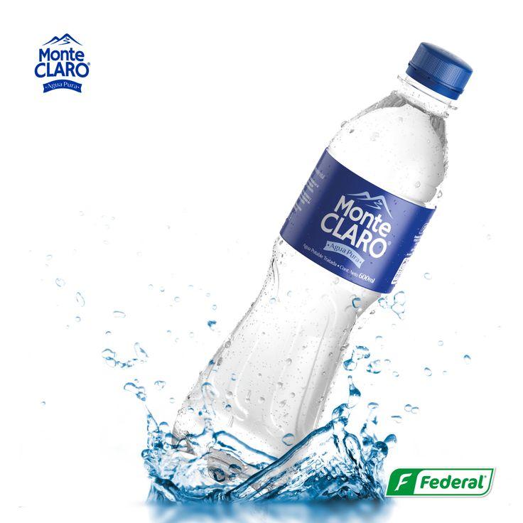 ¡Frescura!  Si tu día necesita frescura, no hay nada mejor que Agua Monte Claro. Disfrútala siempre en el punto perfecto.  #Aguadevida