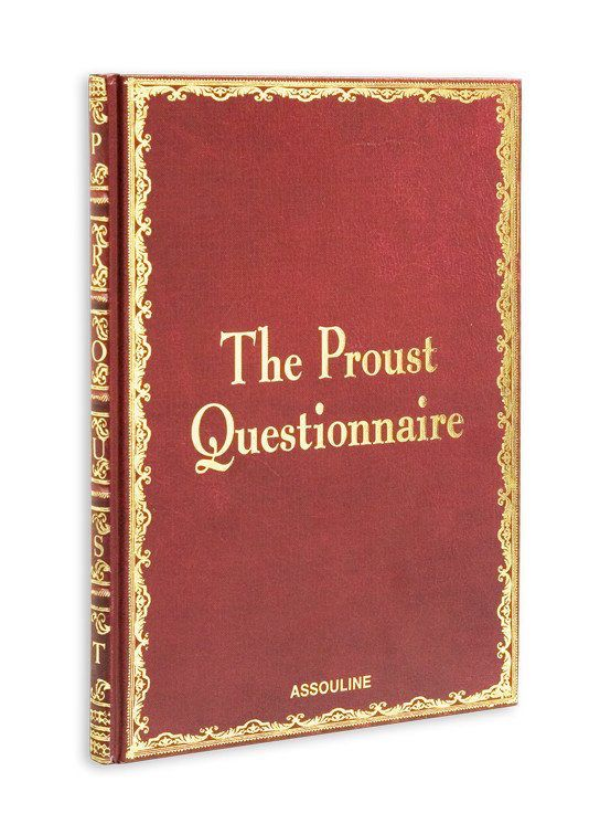 The Thinker Gift Guide | Assouline The Proust Questionnaire