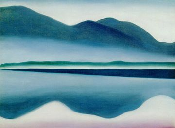I had duplicated this in pastels when I was back in art school and lost it in Katrina...think I will have to do it again. Love it! Love all of Georgia O'Keeffe work