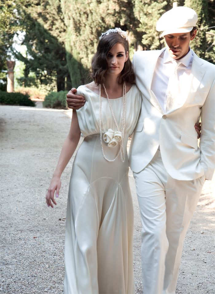 A great gatsby style wedding is the hottest trend this for The great gatsby wedding dresses