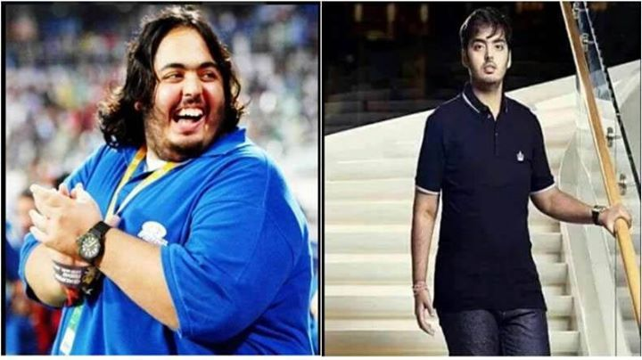 Mukesh Ambani's son Anant Ambani who has been trending on the social media for his extraordinary weight loss recently got a shout out from the fittest person in the tinsel town.   Anant was obese due to medications and he underwent a drastic weight loss program that helped him shed 108 kilos in the last 18 months.