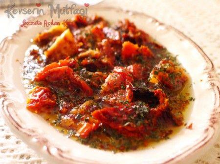 Zeytinyağlı Kurutulmuş Domates Tarifi - Kevser'in Mutfağı - Yemek Tarifleri