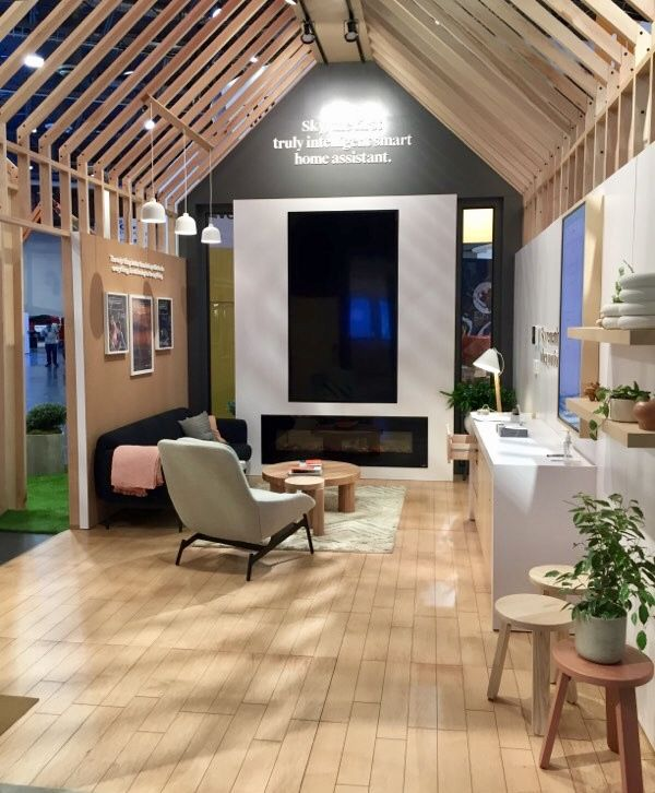 Exhibition Booth Assistant : Vivint booth at ces by mackenzie exhibit tradeshow