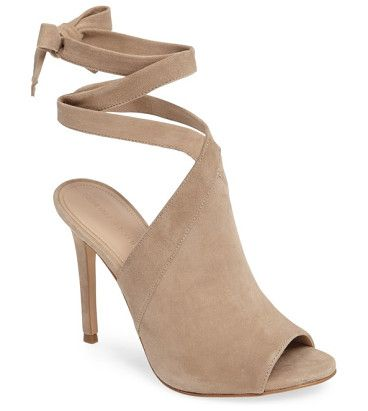 On SALE at 41% OFF! evelyn wraparound high sandal by KENDALL + KYLIE. Tapered straps cross elegantly above the vamp and wrap around the ankle in an open-toe suede sandal lifted by a wrapp...