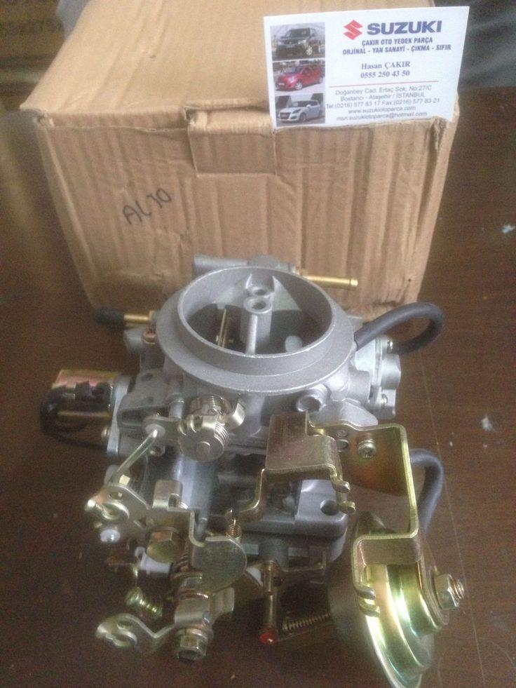 Suzuki Alto Maruti 800cc motor 3 silindirli F8B motor tipi 1984/2002 modeller için geçerli Üründür. Ürün Taiwan Malı Olup Birinci Sınıf Üründür. Ürün Belirmiş Oldugumuz Araça Modelleri ve motor Tipi İçin Geçerlidir. http://www.suzukiotoparca.com/Alto-Karburator,PR-26537.html