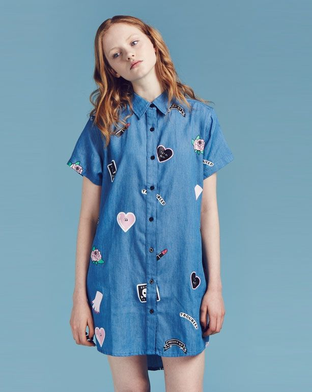 Lazy Oaf Patch Collection Shirt