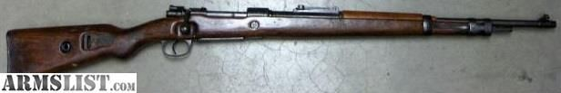 For Sale:   WWII German Luftwaffe K98k Mauser Rifle 8mm