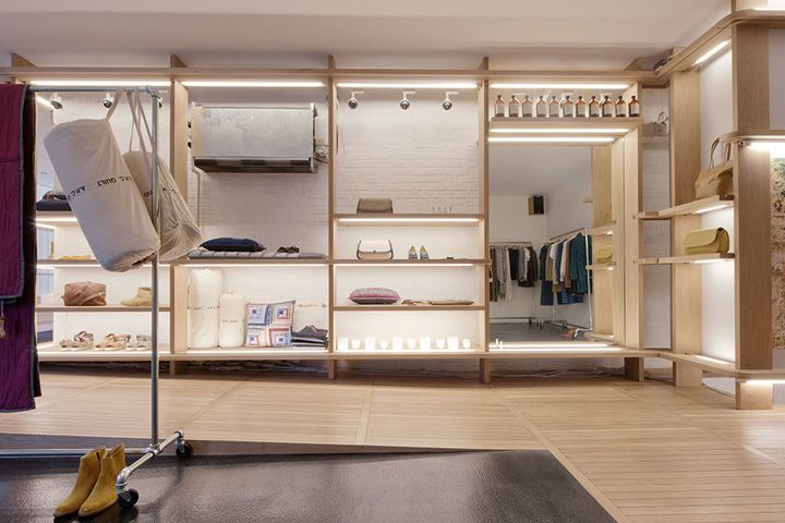 A p c store new york store design interior design for Interior design inspiration new york