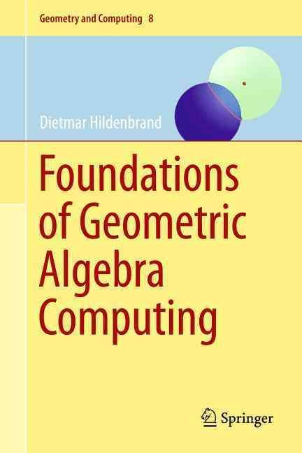 The author defines Geometric Algebra Computing as the geometrically intuitive development of algorithms using geometric algebra with a focus on their efficient implementation, and the goal of this boo