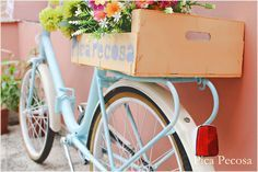 Bicicleta pintada a mano con pintura en spray y chalk paint / DIY painted bike with spray paint and chalk paint