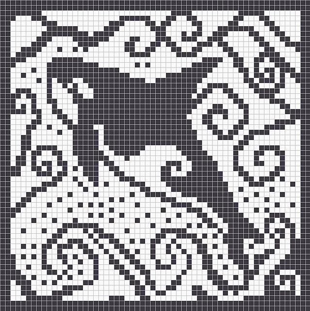 Orca Crochet Chart