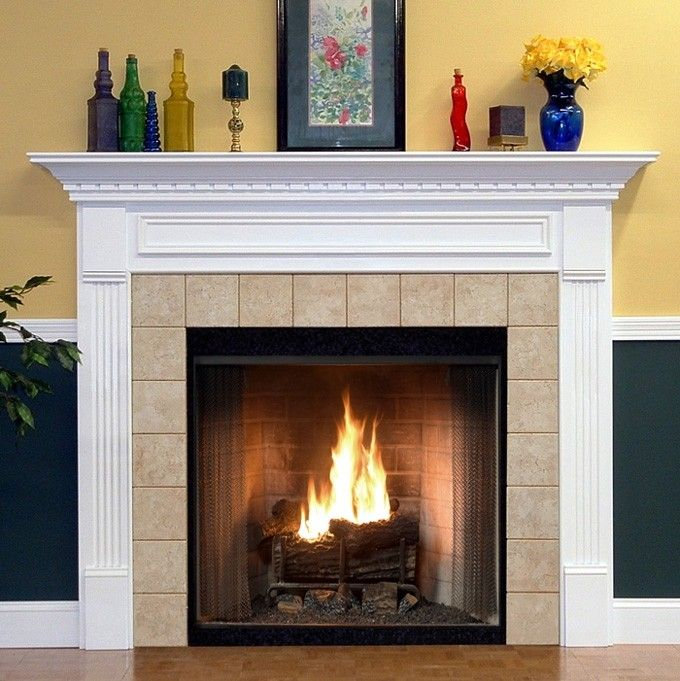 17 best ideas about Fireplace Mantel Kits on Pinterest | Fireplace surround  kit, Fireplace surrounds and Grey lined curtains - 17 Best Ideas About Fireplace Mantel Kits On Pinterest Fireplace