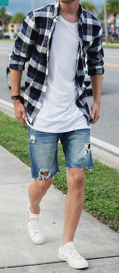 Classy look In Checks Shirt