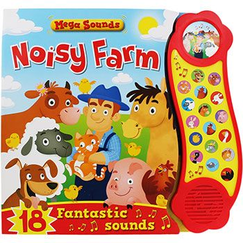 Noisy Farm - Sound Book by Igloo Books | Sound Books at The Works