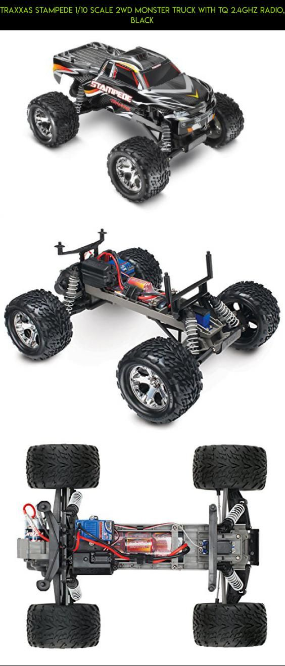 Traxxas Stampede 1/10 Scale 2WD Monster Truck with TQ 2.4GHz Radio, Black #drone #camera #shopping #parts #traxxas #racing #fpv #products #plans #tech #kit #technology #gadgets #parts