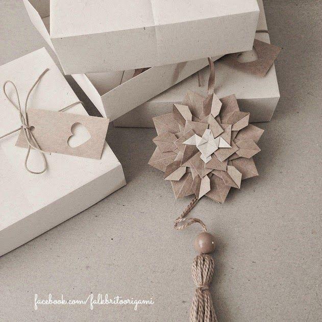 Origami- Origami box - Divino Espírito Santo
