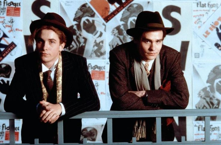 "Christian Bale & Robert Sean Leonard   ""Swing Kids"""